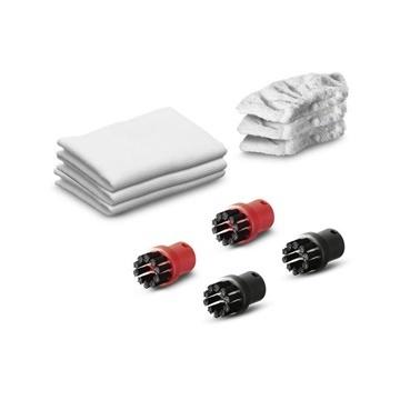 Karcher SC1 SC2 SC3 SC4 SC5 Buharlı Temizlik Makinesi Bez+Fırça Seti Renkli